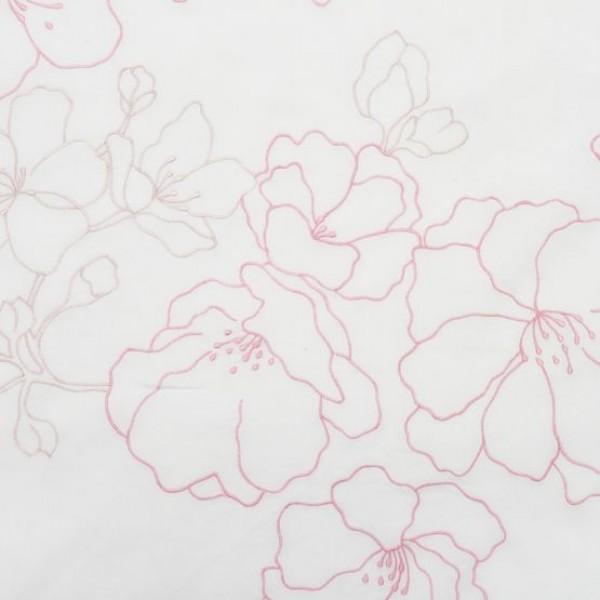 C.Fischbacher Dekbedovertrek Reiko, Rose