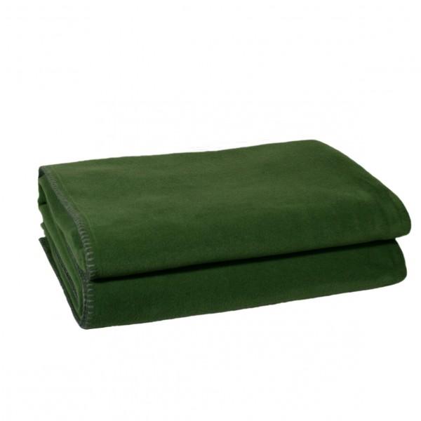 Zoeppritz Plaid Soft-Fleece, Dark Jade