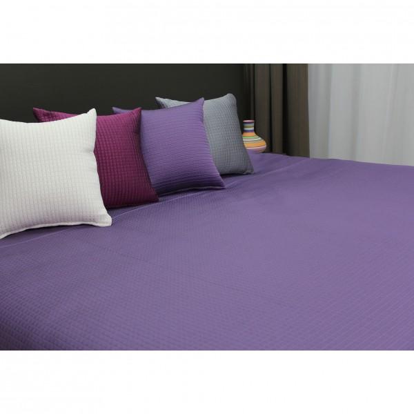 Ruwette Bedsprei Bergamo, Lavendel