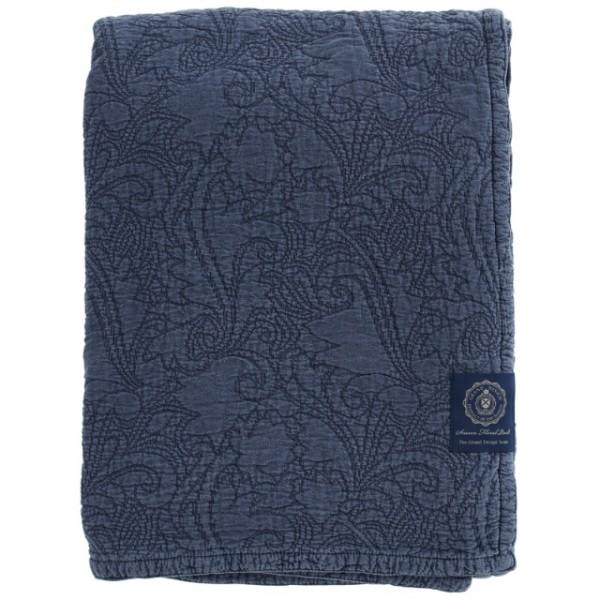 Grand Design Bedsprei Floral Quilt, Blue