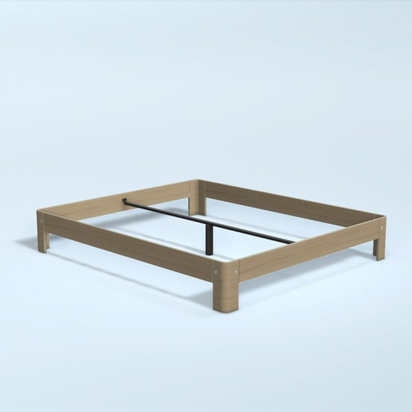 Auping Bed Auronde 1000, Natural Oak
