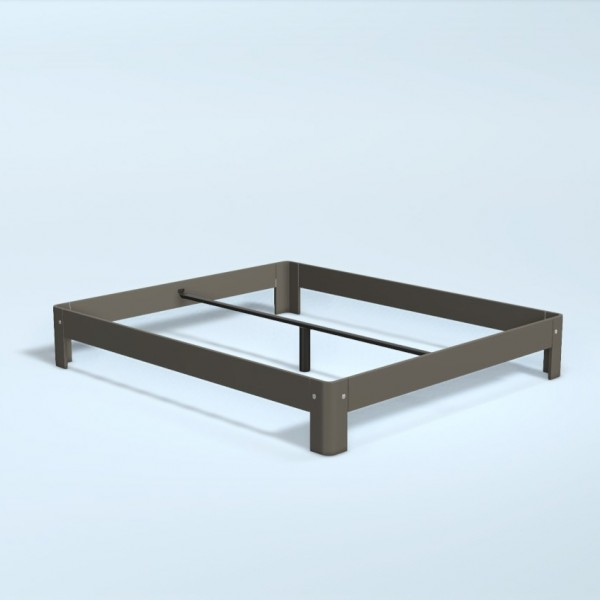 Auping Bed Auronde 1000, Warm Grey