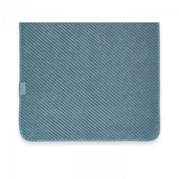 Abyss & Habidecor Handdoek Super Twill, Bluestone
