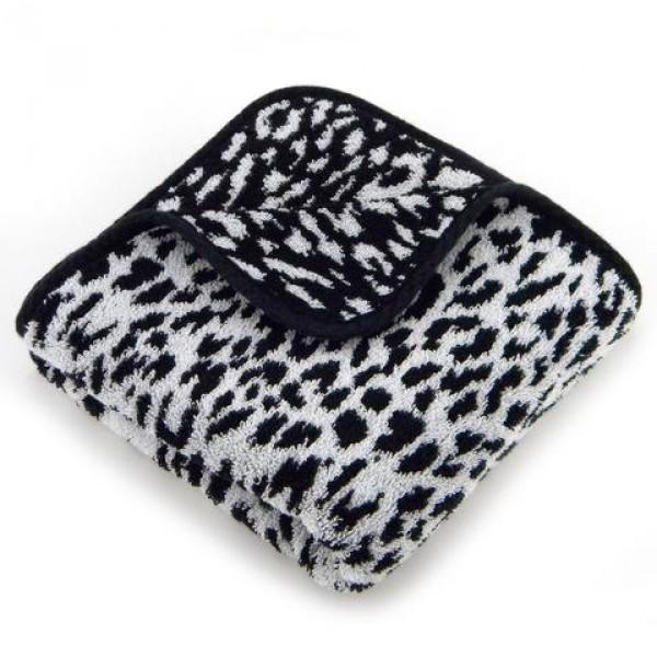Abyss & Habid. Handdoek Zimba, Zwart