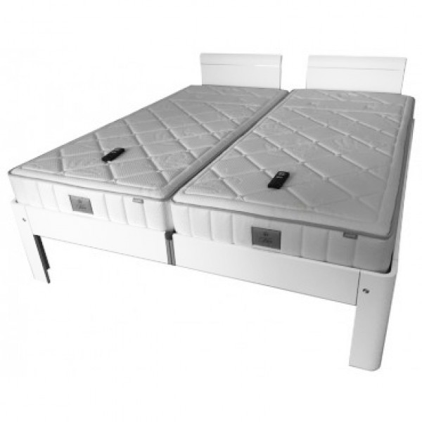 Auping Bed Auronde 1500 Deelbaar, Pure White