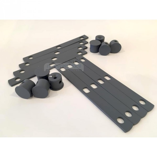 Auping Auronde Design-Set, Cool Grey