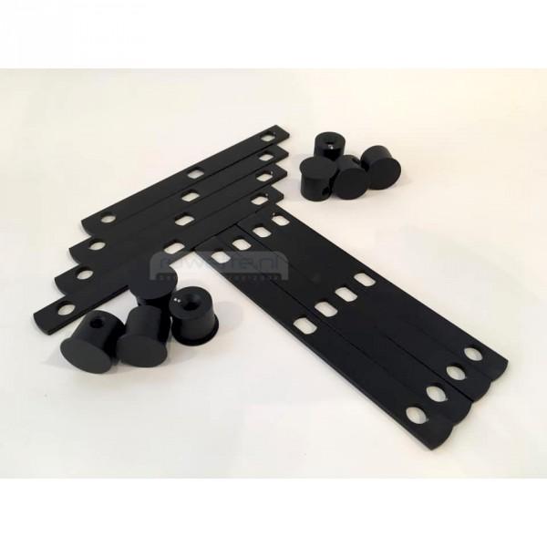 Auping Auronde Design-Set, Deep Black