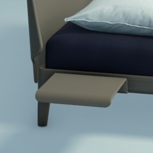 Auping Bedtafel Essential, Warm Grey