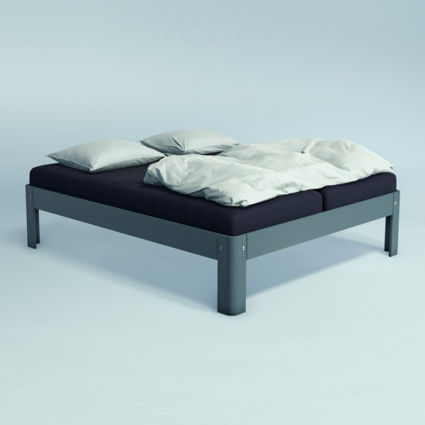 Auping Bed Auronde 2000, Cool Grey