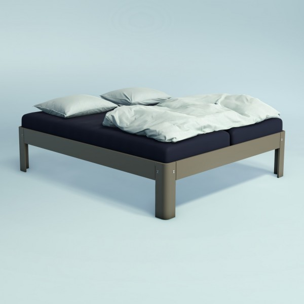 Auping Bed Auronde 2000, Warm Grey