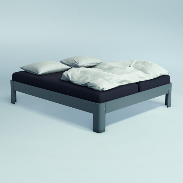 Auping Bed Auronde 1500, Cool Grey
