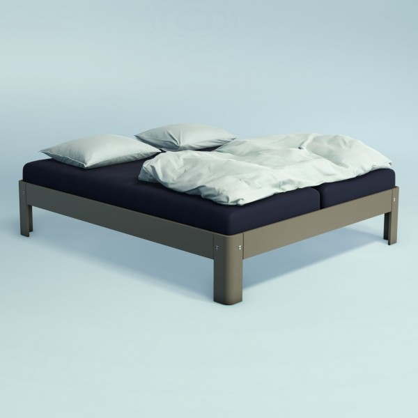 Auping Bed Auronde 1500, Warm Grey