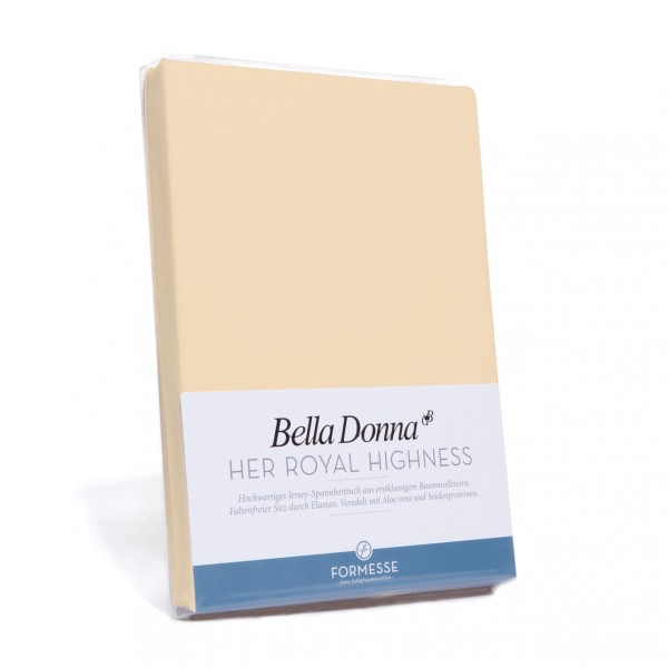 Bella Donna Tophoeslaken XL, Champignon (0115)