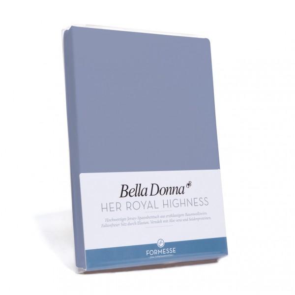Bella Donna Tophoeslaken XL, Blauwgrijs (0209)