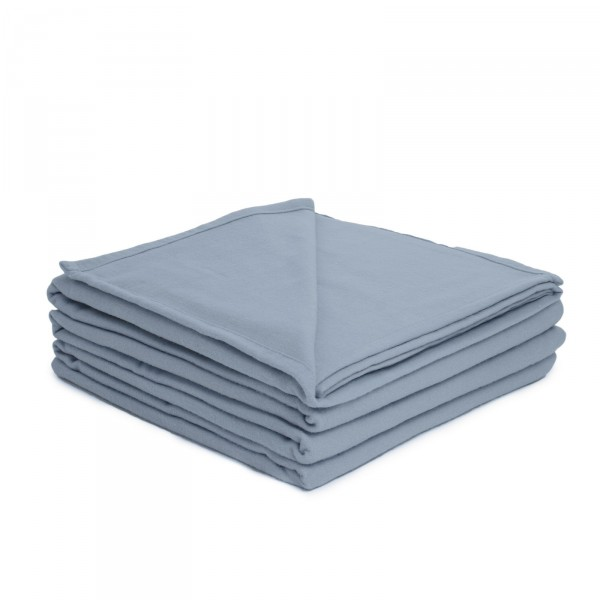 Brun de Vian Tiran Deken Coton, Bleu Gris