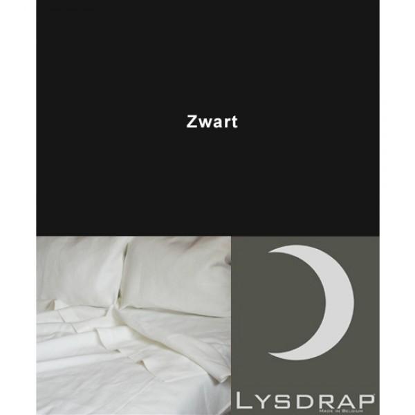 Lysdrap Lakenset Linnen, Zwart Uni