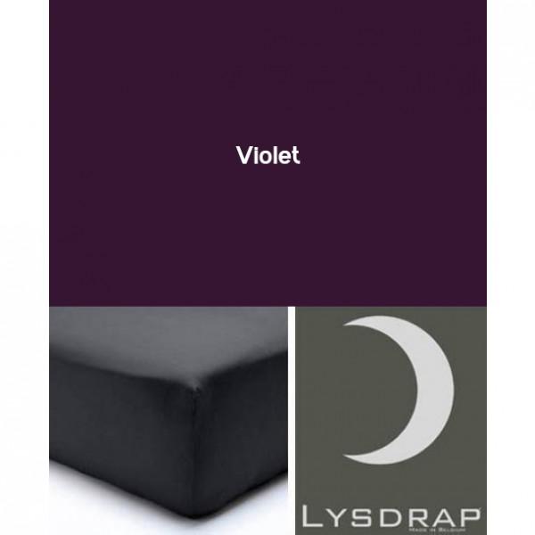 Lysdrap Hoeslaken Satijn, H:25, Violet