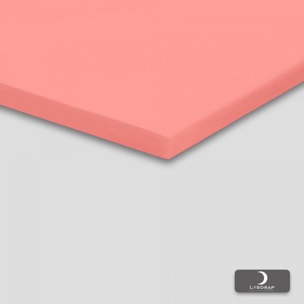 Lysdrap Topperhoeslaken Satijn, Roze