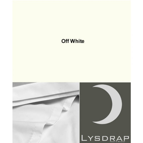 Lysdrap Lakenset Satijn, Off White Uni