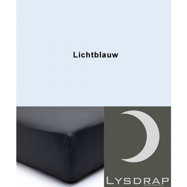 Lysdrap Hoeslaken Perkaal, H:20, Lichtblauw