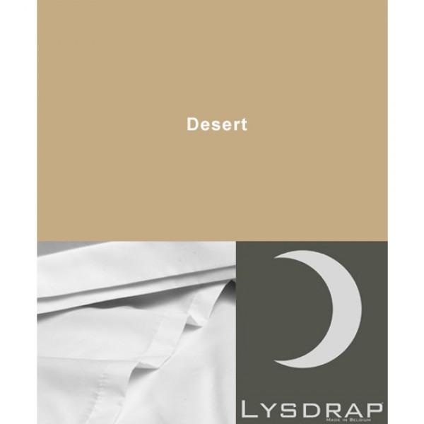 Lysdrap Lakenset Satijn, Desert