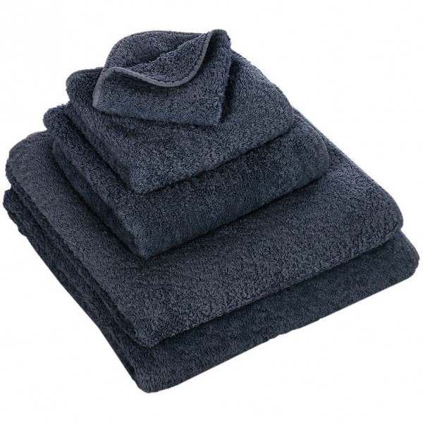 Abyss & Habid. Handdoek Super Pile, Denim