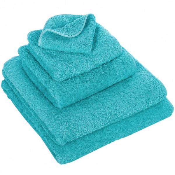 Abyss & Habid. Handdoek Super Pile, Turquoise
