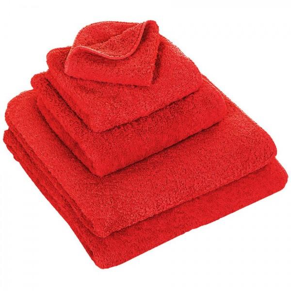 Abyss & Habid. Handdoek Super Pile, Rood