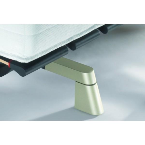 Swissflex Design Pootset Schuin Titanium, 9 cm