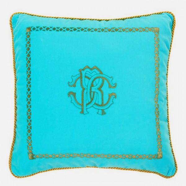 Roberto Cavalli Sierkussen Venezia 40cm, Turquoise