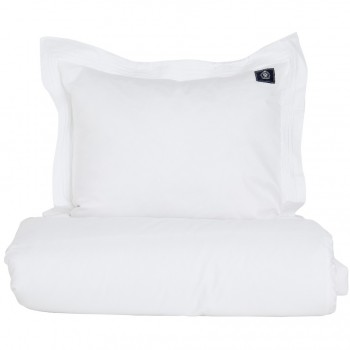Grand Design Dekbedovertrek Bedford Satin, White