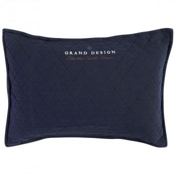 Grand Design Sierkussen Classic Quilt, Navy