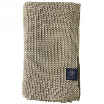 Grand Design Plaid Moss Knit, Sand