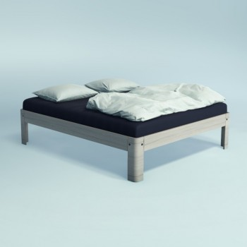 Auping Bed Auronde 2000, Chalk Grey Oak