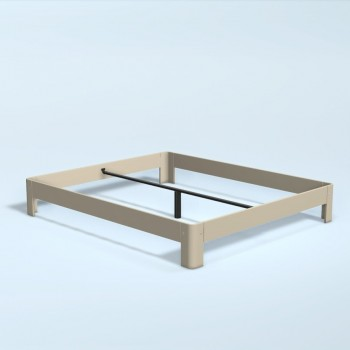 Auping Bed Auronde 1000, Sand Beige