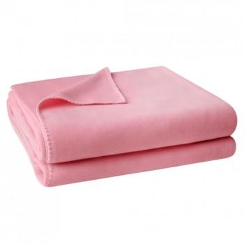 Zoeppritz Plaid Soft-Fleece, Rosa (321)