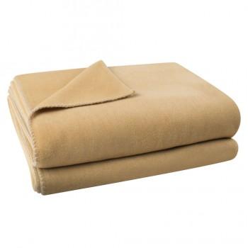 Zoeppritz Plaid Soft-Fleece, Kameel (810)