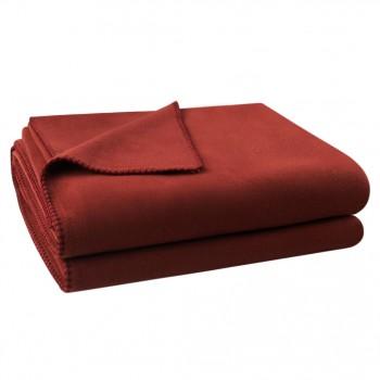 Zoeppritz Plaid Soft-Fleece, Bruin (871)