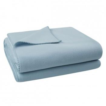 Zoeppritz Plaid Soft-Fleece, Lichtblauw (520)
