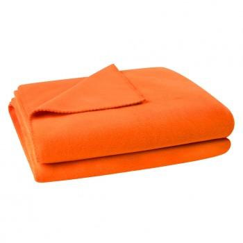 Zoeppritz Plaid Soft-Fleece, Orange (245)