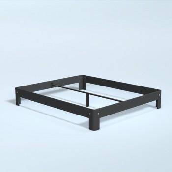 Auping Bed Auronde 1000, Dark Blue Oak
