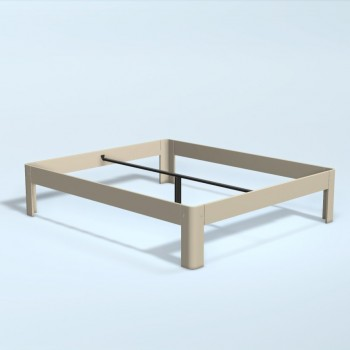 Auping Bed Auronde 2000, Sand Beige