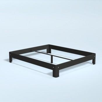 Auping Bed Auronde 1000, Midnight Black Oak