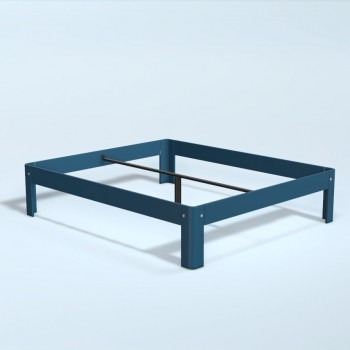 Auping Bed Auronde 2000, Royal Blue