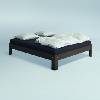 Auping Bed Auronde 1500, Chocolate Brown Oak