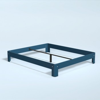 Auping Bed Auronde 1000, Royal Blue