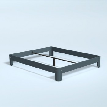 Auping Bed Auronde 1000, Cool Grey