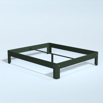 Auping Bed Auronde 1500, Pine Green