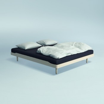 Auping Bed Noa Laag, Soft White Oak