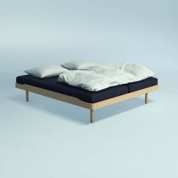 Auping Bed Noa Hoog, Balanced Oak